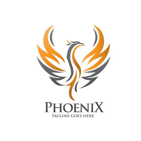 Ilustración de luxury phoenix - Imagen libre de derechos