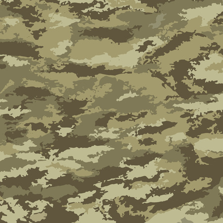 Photo pour Camouflage background - vector illustration. Abstract pattern khaki - image libre de droit