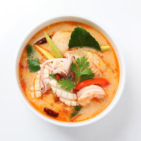 Foto de Tom Yum Soup, Thai Food - Imagen libre de derechos