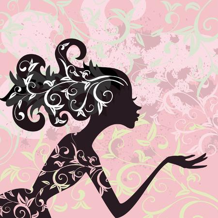 Glamour girl hair ornamentv