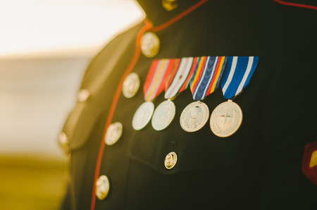Photo for Marine Medals - Royalty Free Image