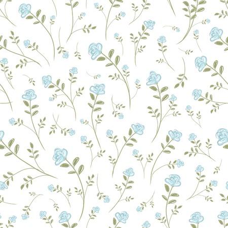 Illustration pour Floral seamless pattern for your design - image libre de droit