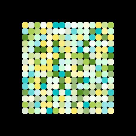 Ilustración de Abstract geometric pattern for your design - Imagen libre de derechos