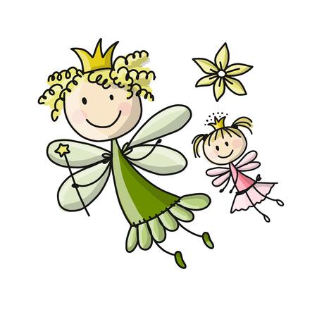 Foto de Cute fairies - Imagen libre de derechos