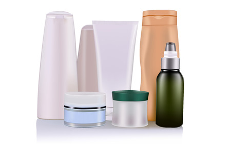 Illustration pour cosmetic product - image libre de droit