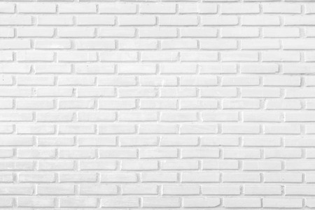 Photo pour Abstract white brick wall as a background - image libre de droit
