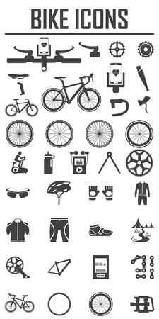 Illustration pour bike icon vector illustration. - image libre de droit