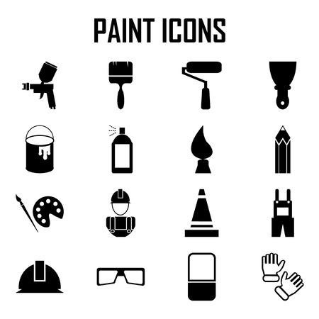 Illustration pour Painting Icons - image libre de droit