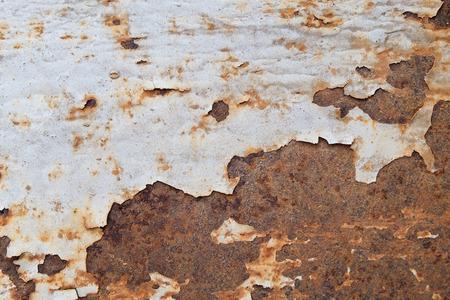 Foto de Rust on steel with white. - Imagen libre de derechos