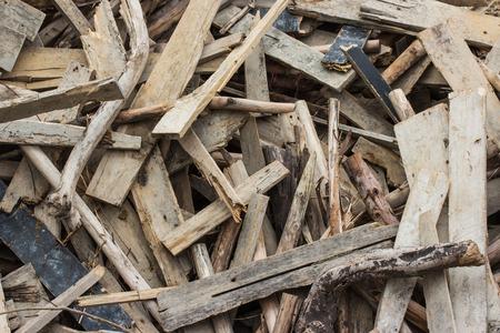 Foto de Waste wood pile - Imagen libre de derechos