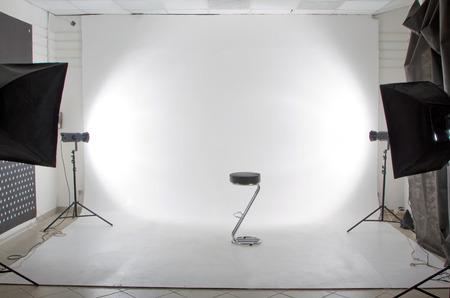 Photo pour The modern photo and video studio - image libre de droit