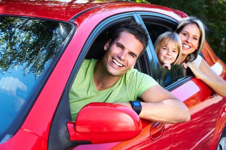 Photo pour Family car. - image libre de droit