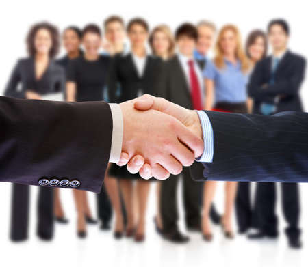 Foto per Handshake. Business people meeting. - Immagine Royalty Free