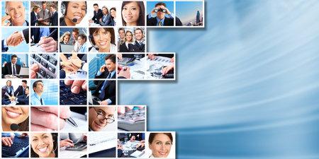 Foto für Business people group collage. - Lizenzfreies Bild