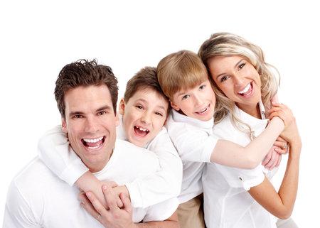 Photo pour Happy family. - image libre de droit