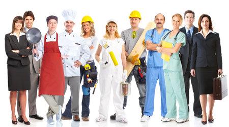Foto für Group of workers people  - Lizenzfreies Bild