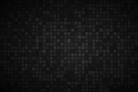 Photo pour Black abstract background with transparent squares, vector illustration - image libre de droit