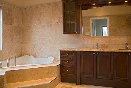 interior bathroom.