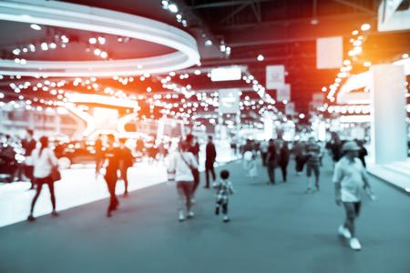 Foto de abstract blurred event with people for background - Imagen libre de derechos