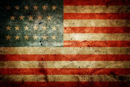 Foto de Grunge dirty flag of United States of America - Imagen libre de derechos