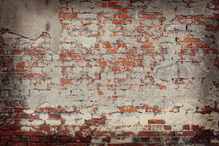 Photo for old brick wall background - Royalty Free Image