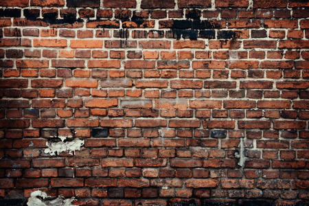 Photo pour old brick wall background - image libre de droit