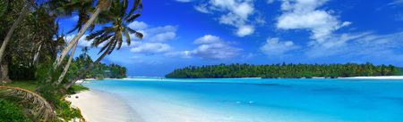 Photo pour Tropical Panorama - image libre de droit