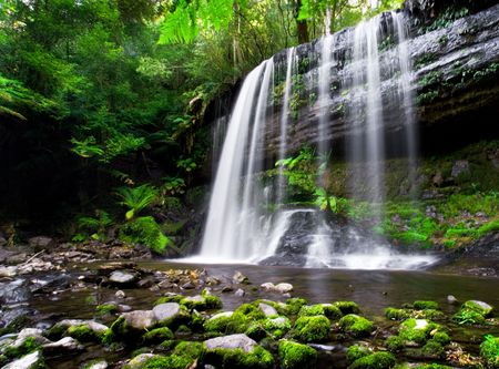 Photo for Russell Falls in Tasmania, Australia - Royalty Free Image