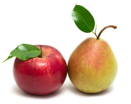 Photo pour apple pear isolated on white background - image libre de droit