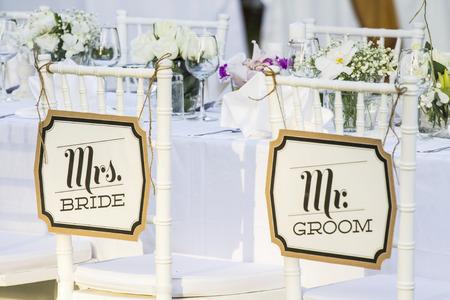 Photo pour wedding decoration - image libre de droit