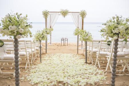 Photo pour wedding set up - image libre de droit
