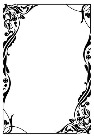 Ilustración de Elegant frame - Imagen libre de derechos