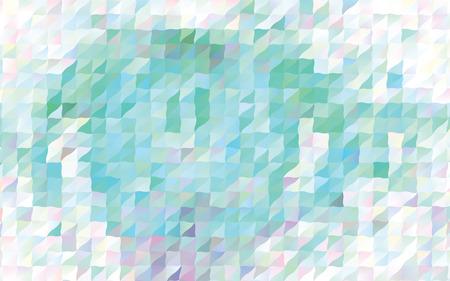 Illustrazione per Low poly mosaic pattern design - Immagini Royalty Free