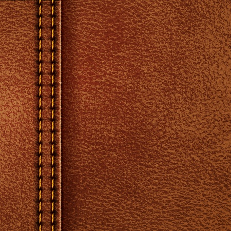 Leather texture illustration