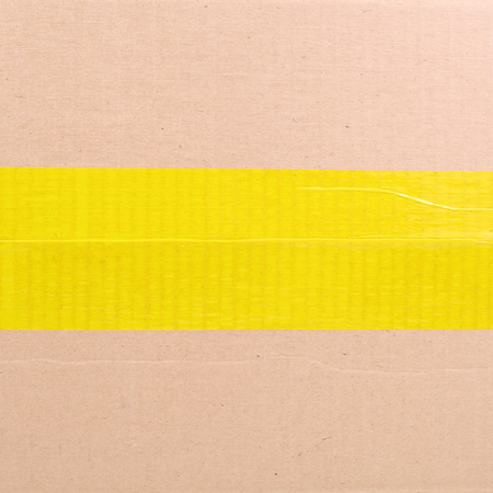 Foto de one side of a package box - Imagen libre de derechos