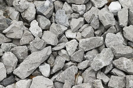 Photo for Gray broken stones. - Royalty Free Image