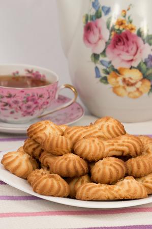 Photo pour Cookies to coffee - image libre de droit