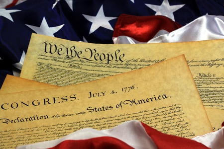 Constitution of United States Historical Document - We The People Bill of Rights