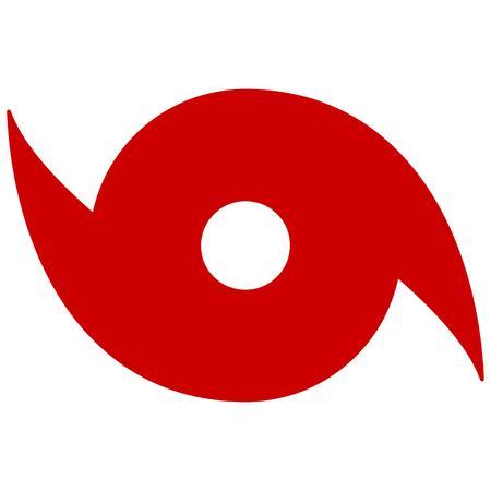 Illustration pour Hurricane Symbol - image libre de droit