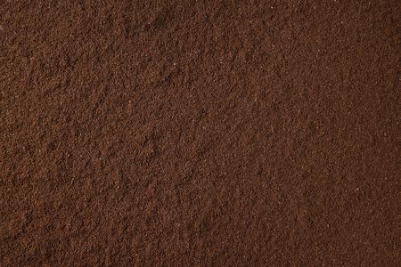 Photo pour Ground black coffee food abstract background. - image libre de droit
