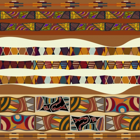 Seamless texture of African