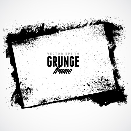 Ilustración de Grunge frame for multiple applications. - Imagen libre de derechos