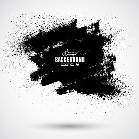 Illustration pour Grunge splash banner - image libre de droit