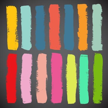 Illustration pour Summer Style Grunge Banners - image libre de droit
