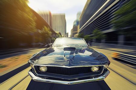 Photo pour Vintage Car - image libre de droit