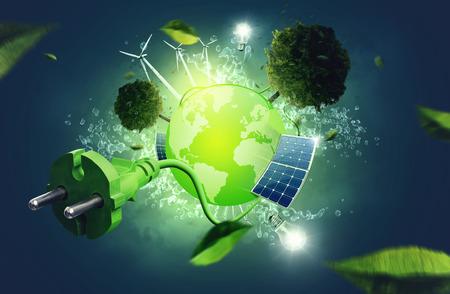 Foto de Green Energy - Imagen libre de derechos