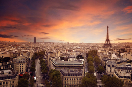 Photo for Paris Skyline - Royalty Free Image