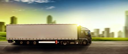 Photo pour Truck  - image libre de droit