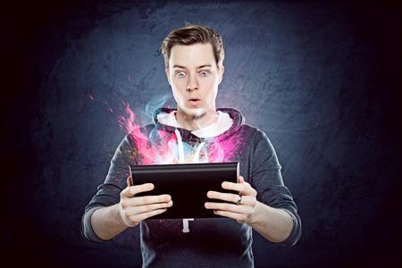 Foto de Tablet PC - Imagen libre de derechos