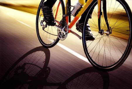 Foto de Racing Bike - Imagen libre de derechos